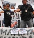 Aksi Solidaritas Wartawan. Foto metro-bidik.blogspot.com