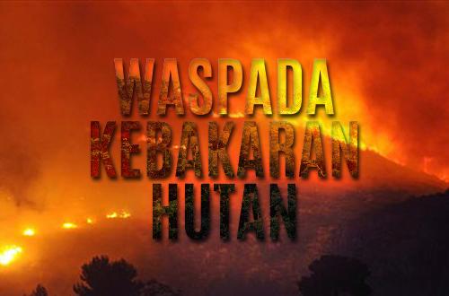 Waspada Kebarakan Hutan #STOPAsap