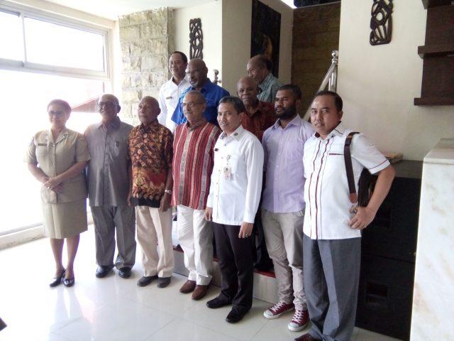 Ramos Horta Bersama Para Tokoh Papua