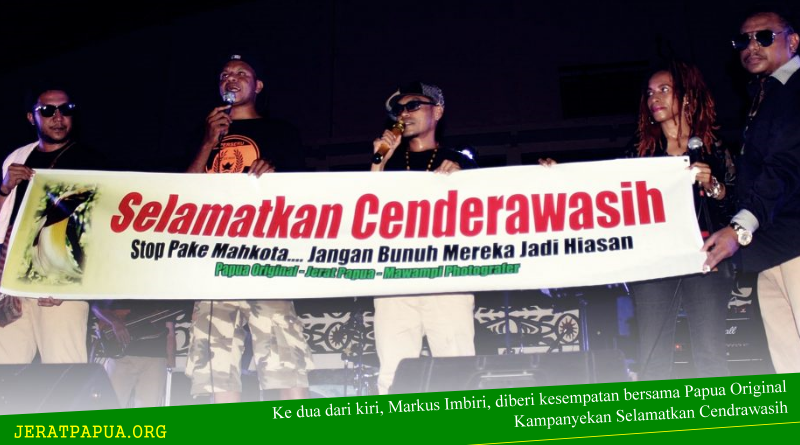 """Kampanye """"Selamatkan Cendrawasih"""" Bersama PAPUA ORIGINAL"""