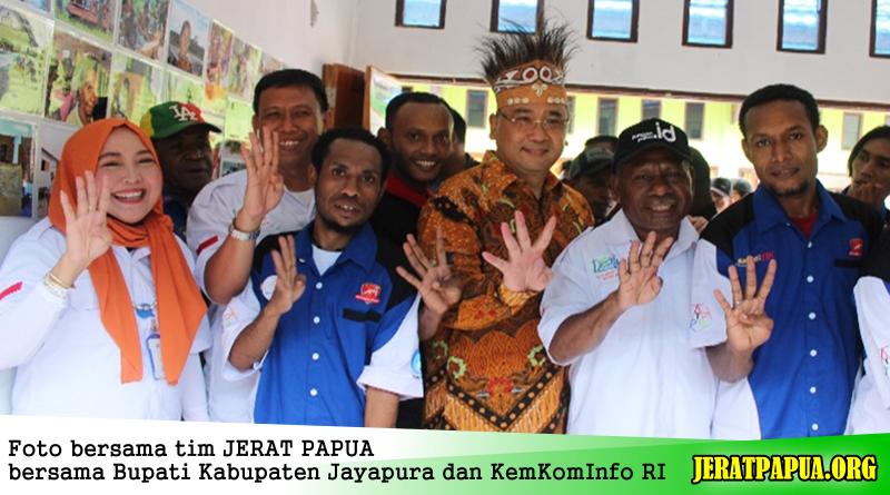 "Di DesTIKa, ""JERAT PAPUA"" Bawakan Suku Momuna dan Kampung Sarawandori"