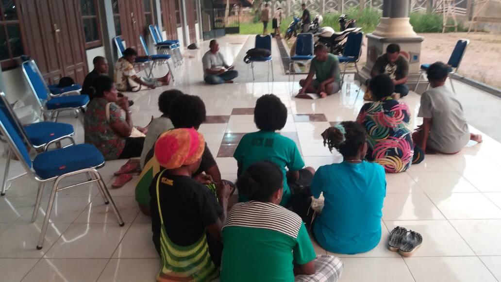 SOLPAP Organisir Pedagang Asli Papua di Waena