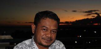 Ketua DPRD Kabupaten Kaimana Irsan Lie (Foto ; Netsa )
