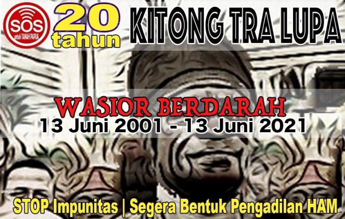 Solidaritas Organisasi Sipil (SOS) Untuk Papua : Arsip