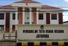 Kantor Pengadilan Tata Usaha Negara (PTUN) Jayapura Papua, Foto : nesta/jeratpapua.org